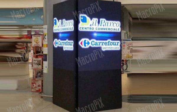 led display carrefour