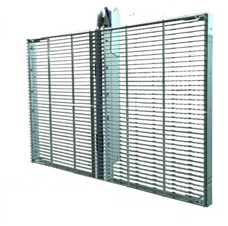 schermo trasparente vetrina negozio