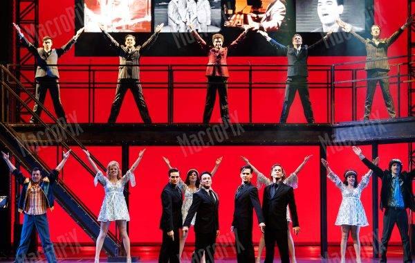 ledwall teatro Jersey Boys