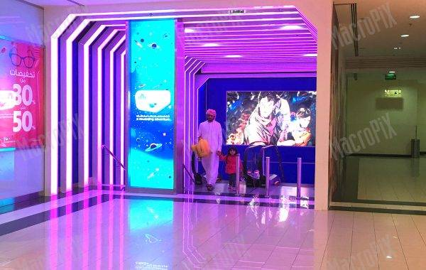 creative led screens shopping mall