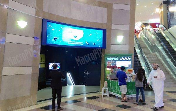 curved led screen jimi mall al main