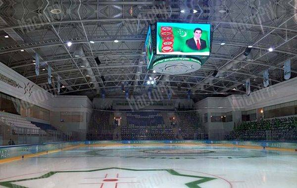 led screen palazzetto sportivo awaza