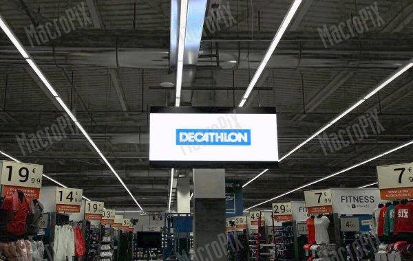 schermo a led decathlon