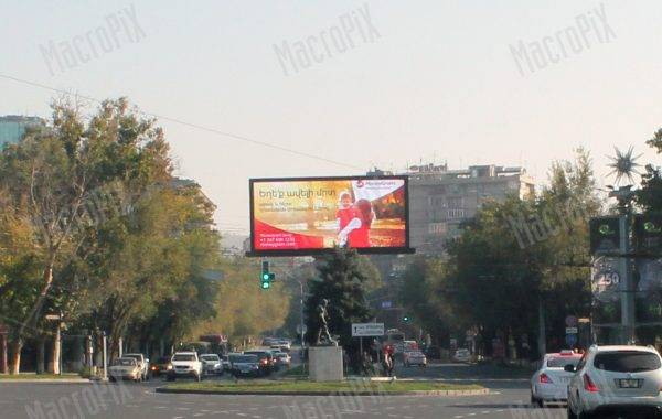 led screen advertising armenia