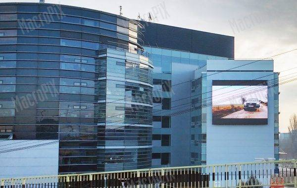 led display outdoor bucuresti porsche