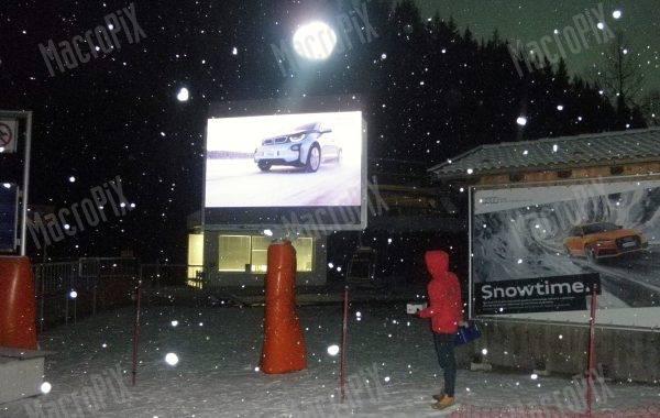 maxischermo outdoor pista da sci