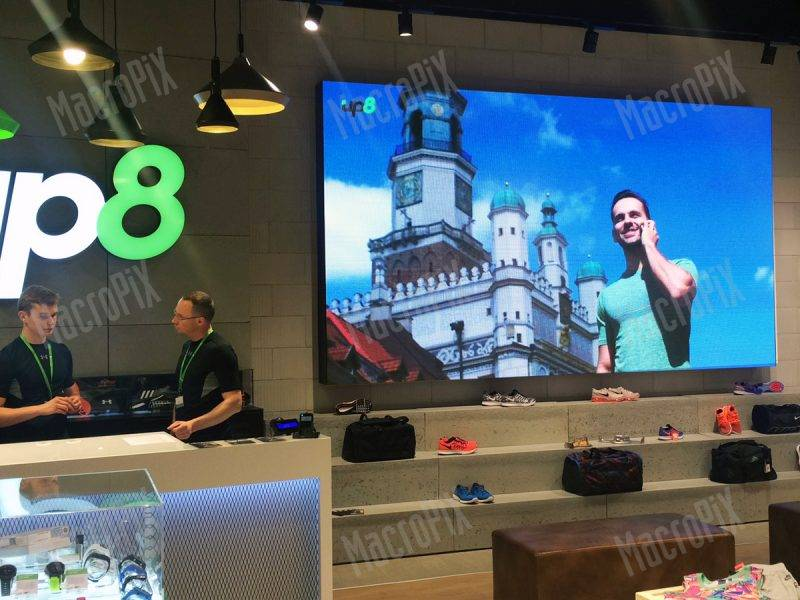 led screen show shop poland