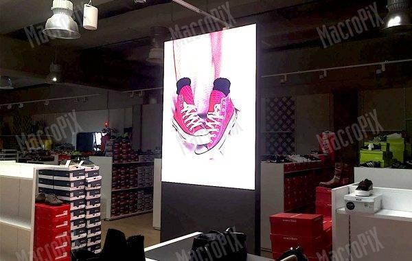 display digitale a led negozio moda