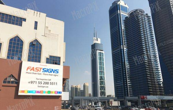 advertising screen dubai