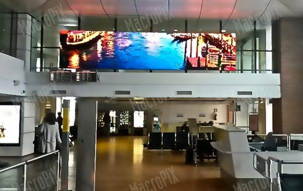led wall aeroporto venezia