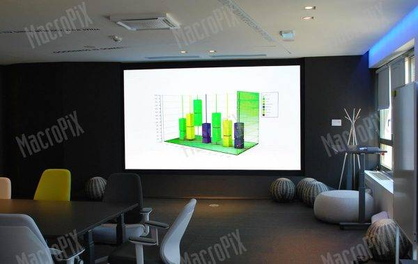 led display deloitte indoor