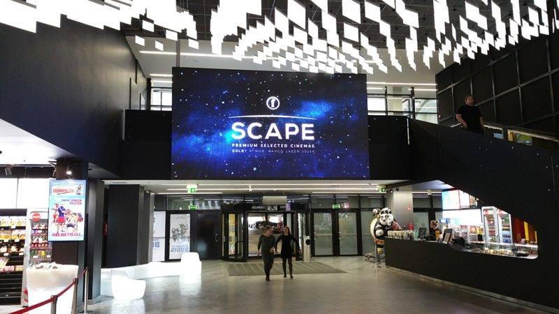 schermo a led cinema lituania