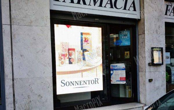 led display per farmacie casarsa