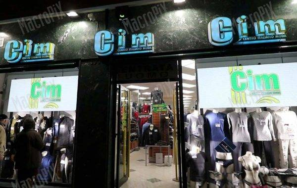 led display Gim roma