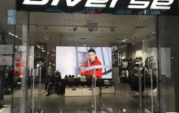 led display indoor aVarsavia