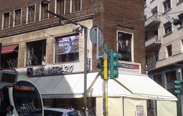 maxi schermo Brera Milano
