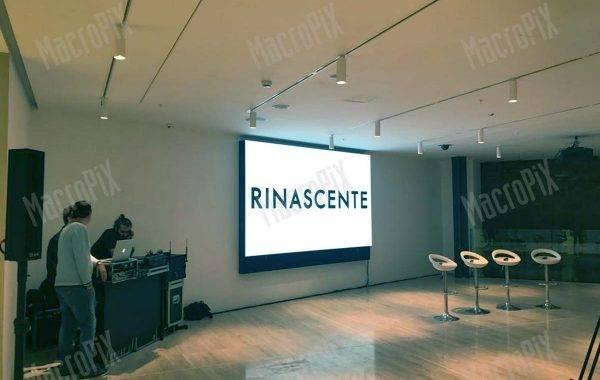 schermo led Rinascente