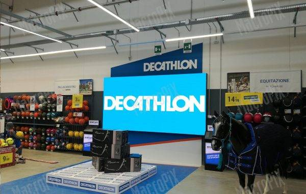 led display decathlon Novara