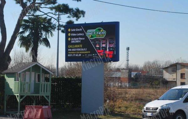 Schermo a Led per circuito pubblicitario - Outdoor