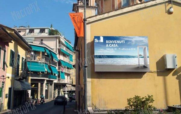 schermo a led rapallo - outdoor - advertising | Macropix