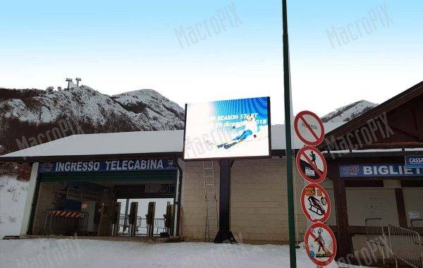 led display outdoor su palo Ovindoli | Macropix