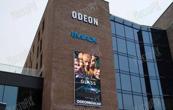 Led screen per cinema Odeon Norvegia