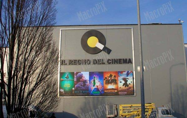 led screen Cinema Oz Multisala Brescia