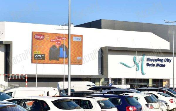 Schermo a led da esterno Satu mare - Shopping mall