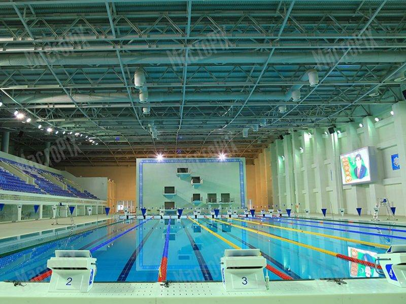 Led screen swimming pool Turkmenistan   Macropix