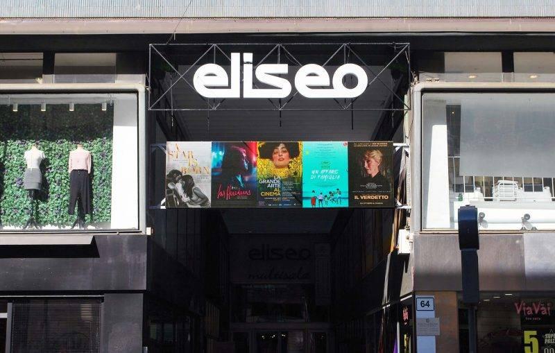 Led screen da esterno Cinema Eliseo