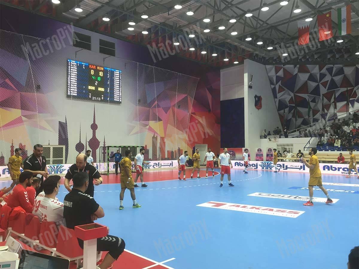 Led Screen e segnapunti per palazzetto dello sport - kuwait |Macropix
