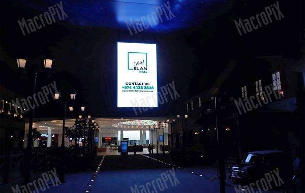led wall da interno - centro commerciale Oman