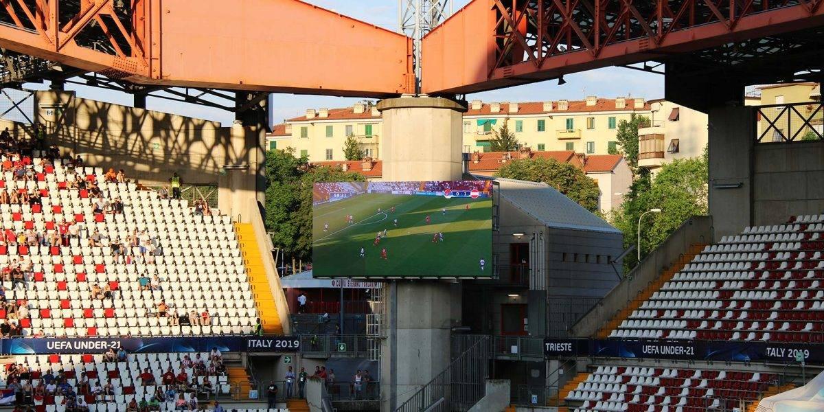 Schermo a led e Segnapunti - Stadio Trieste - Macropix