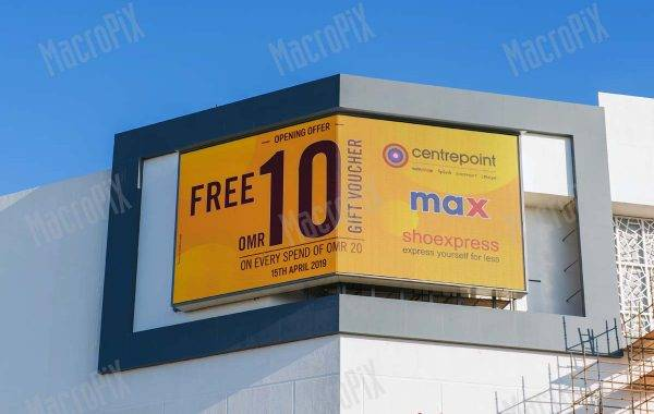 Maxi schermo led - Centro Commerciale Muscat