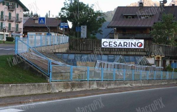 banner led cesarino