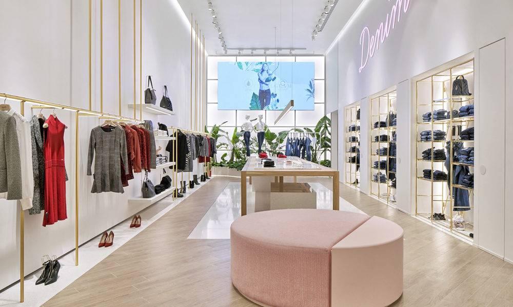 Schermo a Led alta moda Milano