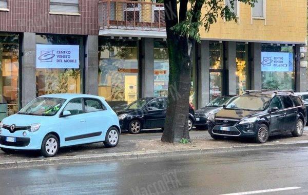 Schermo a led Centro Veneto del mobile Darsena