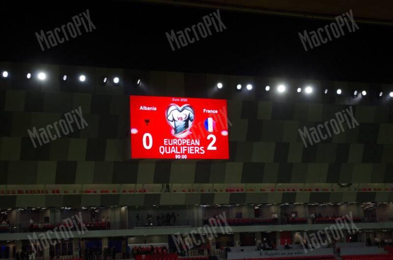 Maxischermo led Air Albania Stadium Tirana