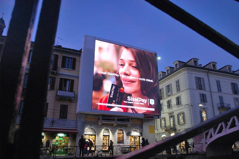led wall outdoor Milano