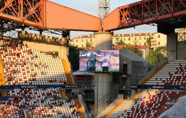 Led wall Outdoor Stadio Trieste