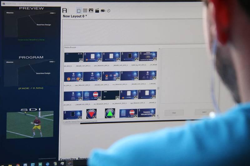 software ledwall per pubblicità e sport