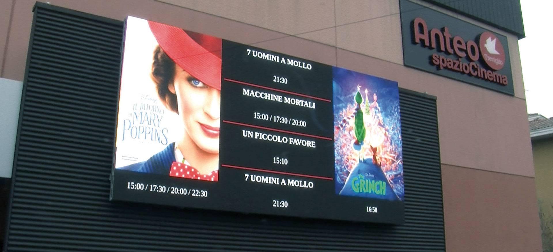 ledwall for cinema