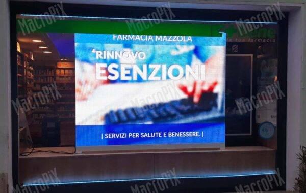 ledwall farmacia_mazzola