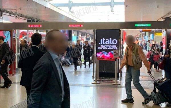 Schermi led per Italo Treno